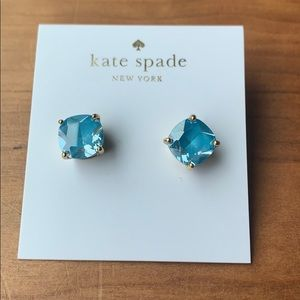 Turquoise Kate Spade Earrings